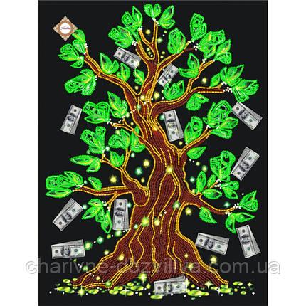 "Схема для вышивки бисером на атласе ""Дерево достатка"", фото 2"