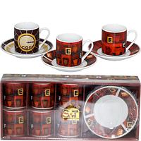 Сервиз эспрессо 12пр Кофейня SNT 024-12-10