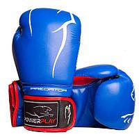 Боксерські рукавиці 3018 Сині 10 унцій R144023
