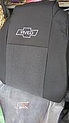 Чохли Chevrolet Aveo Т-300 з 2011 р. 2/3 спина/передній підлокітник/ 5 підголовників/