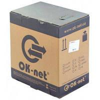 Кабель сетевой OK-Net UTP 500м 2 пары внешний (КПП-ВП (100) 2х2х0,50 / 500)