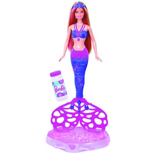 Кукла Barbie русалочка Сказочные пузыри
