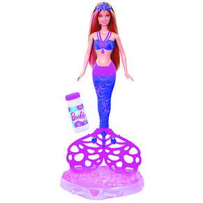 Кукла Barbie русалочка Сказочные пузыри, фото 2