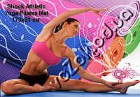 Коврик для фитнеса или йоги Shock Athletic Yoga Pilates Mat 173х61 см