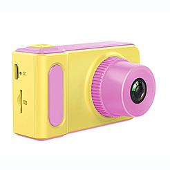 Детский фотоаппарат Baby Insta pro V7 kids camera, с экраном 2,0 дюйма, два цвета Розовый