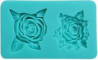 Молд силиконовый Empire - 85 x 50 мм, розы