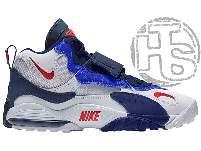 Мужские кроссовки Nike Air Max Speed Turf Giants White/Blue-Red BV1165-100