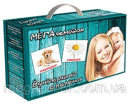 Картки Домана Подарунковий набір Вундеркінд з пелюшок Мега валізу