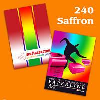 Бумага А4/80 г/м2 SPECTRA интенсивная Saffron 240 100 листов