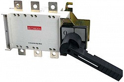 Выключатель-разъединитель 3р 125А с боковой рукояткой управления