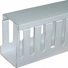 Короб перфорований пластиковий 15х20мм 2м