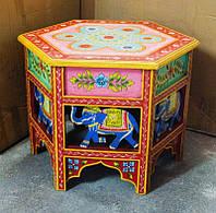 9140204 Журнальный стол из дерева манго Арт.2175 №4