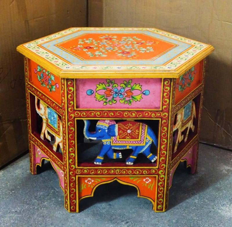 9140204 Журнальный стол из дерева манго Арт.2175 №3