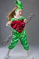 Детский карнавальный костюм Бурячок (Свекла)