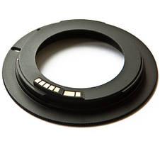 Адаптер переходник M42 - Canon EOS, AF чип Ulata