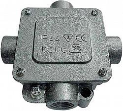Коробка монтажная металлическая Р16/4 IP 44 400 B 5*4, Tarel