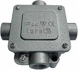 Коробка монтажная металлическая Р16/4 IP 44 400 B 5*4, Tarel, фото 2