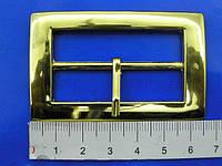 Пряжка металлическая золотая