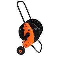 """Котушка-візок розкладна для поливального шланга 1/2""""-60 м, 3/4""""-30 м Lux Aquapulse"""