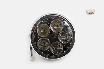 Фара LED круглая 180 мм FEILI