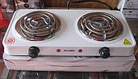 Плита электрическая спиральная двухконфоркная Atlanfa AT-1720A