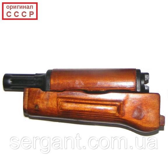 Комплект (газовая трубка с ствольной накладкой + цевьё) для АКМ и АКМС калибр 7,62