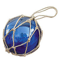 Стеклянный шар Sea Club 550240 13х13х13 см Синий