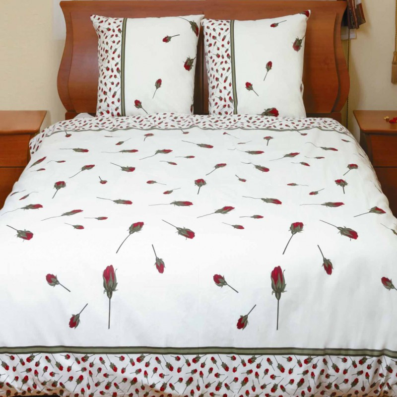 """Комплект постельного белья """"Бутон розы красной"""""""