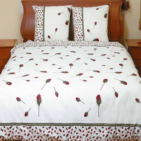 """Комплект постельного белья """"Бутон розы красной"""", фото 2"""