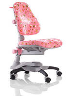 Стул Оксфорд детский ортопедический KY-618 Comf-Pro Pink Flower розовый с цветами