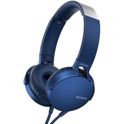 Наушники SONY MDR-XB550AP Blue (MDRXB550APL.E)