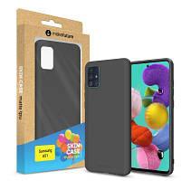 Чехол для моб. телефона MakeFuture Samsung A51 Skin (Matte TPU) Black (MCS-SA51BK)