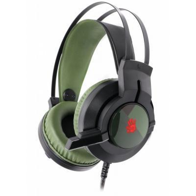 Навушники A4tech J437 Bloody Army Green