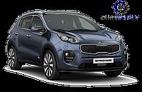 Накладка заднего бампера нижняя (Юбка) 2018- Kia Sportage 2016-2020 (QL)