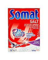 Соль Somat 3х Защита от Известкового Налета  - 1,5 кг.