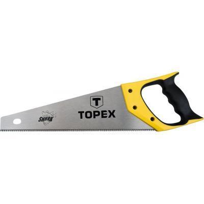Ножівка Topex по дереву, 400 мм, «Акула», 7TPI (10A440)