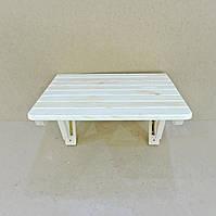 """Настенный складной столик """"Ламбро"""" бланже"""