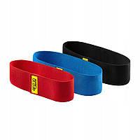 Резинка для фитнеса и спорта тканевая 4FIZJO Hip Band 3 шт 4FJ0068 - 227853
