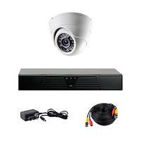 Комплект AHD видеонаблюдения на 1 внутреннюю камеру CoVi Security AHD-1D KIT