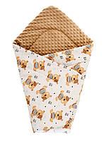 Плед DOTINEM Minky плюшевый детский капучино 75х85 см (213145-2)