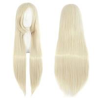 Парик блондинки длинный, парик длинный блонд прямые волосы