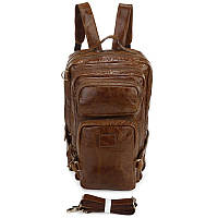 Кожаный рюкзак Hiking Camping