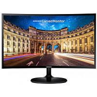 Монитор Samsung 23.5 C24F390F (LC24F390FHIXCI) VA Black Curved; 1920х1080, 4 мс, 250 кд/м2, HDMI, D-Sub