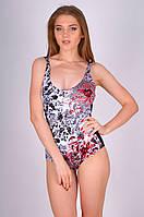 Слитный женский купальник Miss Marea 20410 44 Черно-Белый MissMarea 20410
