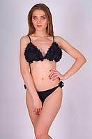 Черный бикини с рюшами Miss Marea 20416 42 Черный MissMarea 20416