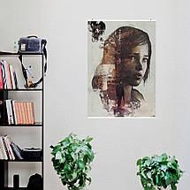 """Постер """"Last Of Us, Элли, коллаж"""". Последние из нас, Одни из нас. Размер 60x43см (A2). Глянцевая бумага, фото 3"""