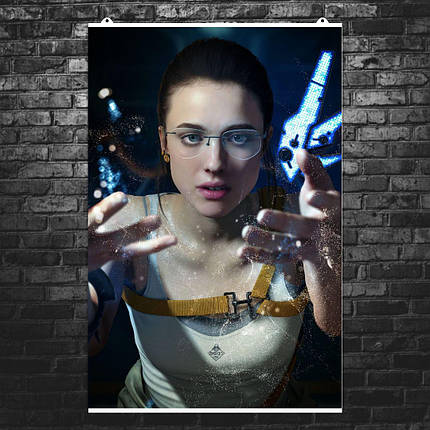 "Постер ""Death Stranding. Мама"". Mama, Маргарет Куэлли, плакат без текста. Размер 60x40см (A2). Глянцевая бумага, фото 2"