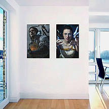 "Постер ""Death Stranding. Мама"". Mama, Маргарет Куэлли, плакат без текста. Размер 60x40см (A2). Глянцевая бумага, фото 3"