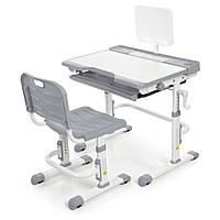 Парта + стул трансформеры Bambi M 3111(2)-11 Серый, фото 1