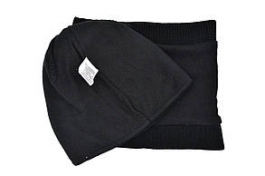 Комплект Flexfit шапка з помпоном и снуд FC Juventus Чёрный (F-0918-106), фото 3